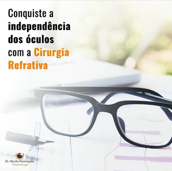 cirurgia refrativa independencia dos oculos